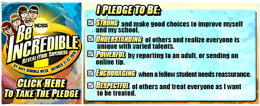 Take the Online Be Incredible SUPERhero Pledge Against Bullying