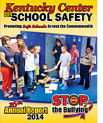 2014 KY Center for School Safety Annual Report