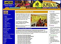 kcss web page on drug abuse resources on this page