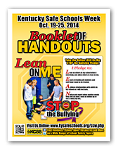 KY Safe Schools Week Booklet of Handouts