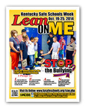 KY Safe Schools Week Poster 2014