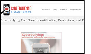 Cyberbullying Fact Sheet: Identification, Prevention, and Response