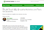 We All Teach SEL: Empathy Activities and Tools for Students