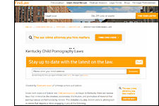 Kentucky Child Pornography Laws