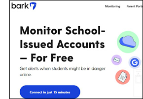 Bark Monitoring Tool for Schools