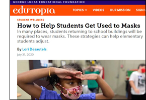 How to Help Students Get Used to Masks