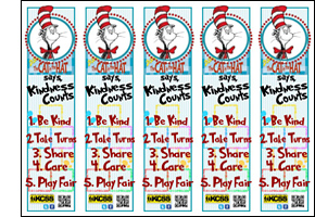 Kindness Counts Bookmarks